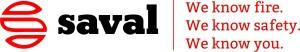 Saval logo + slogan
